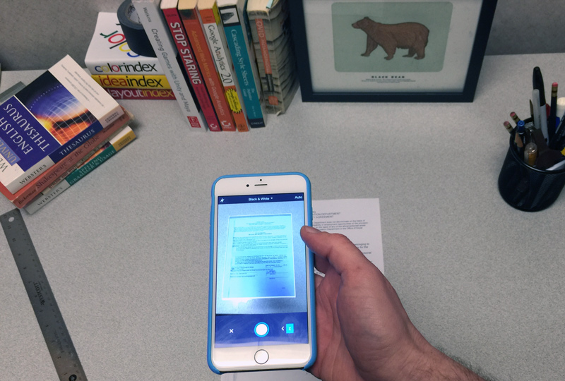 How to scan documents like a pro, using your mobile phone